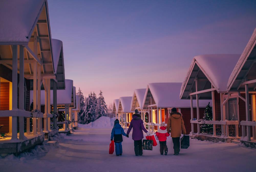 Santa's Village at Rovaniemi (Credit: Visit Rovaniemi)