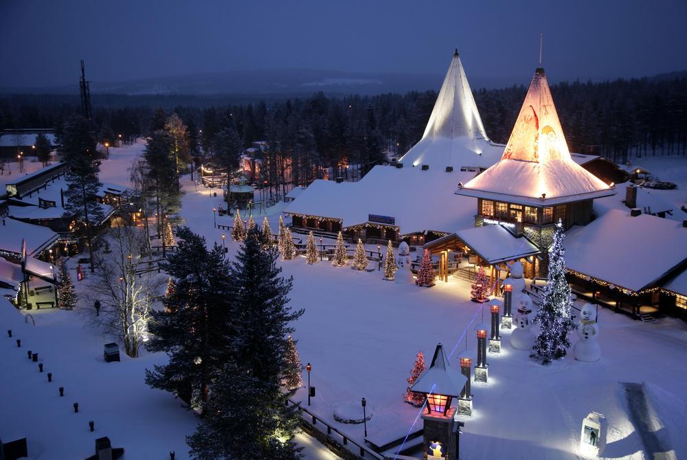 Santa Village at Rovaniemi, Finnish Lapland (Credit: Visit Rovaniemi)
