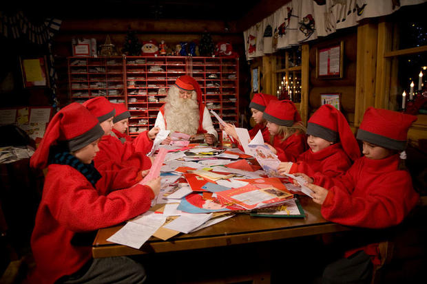Santa's post office in Rovaniemi, Finnish Lapland