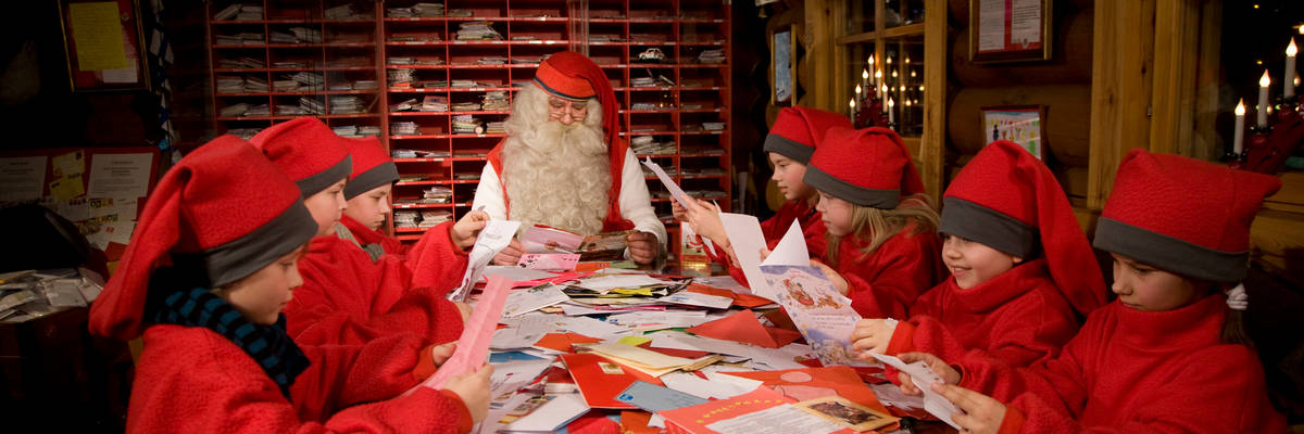 Santa's Post Office at Rovaniemi, Finnish Lapland (Credit: Visit Rovaniemi)