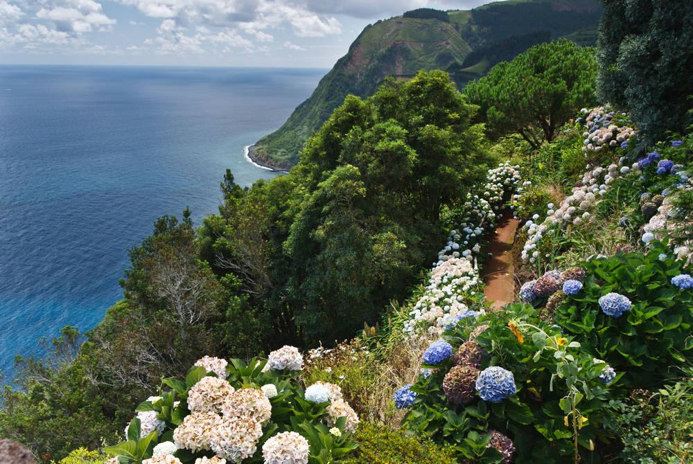 Sao Miguel coast, Azores