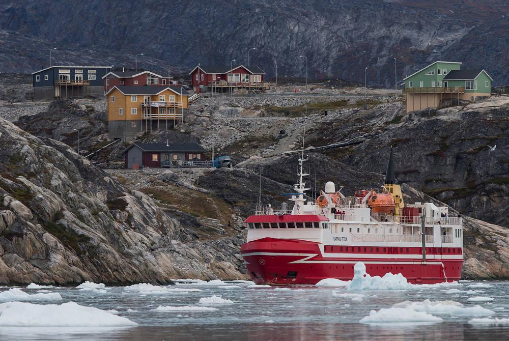 Sarfaq Ittuk, Ilulissat. (Credit: Arctic Umiaq Line, Visit Greenland)