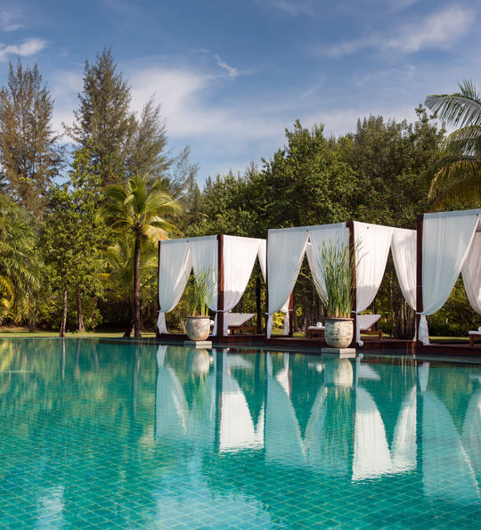 Swimming pool, Sarojin, Khao Lak, Thailand