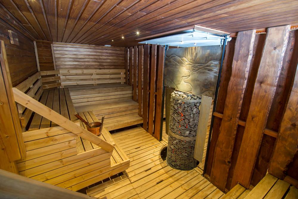 Sauna, Hotel Harriniva