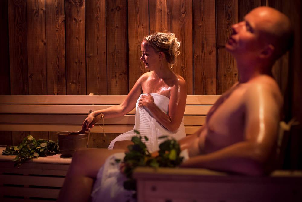 Sauna (© Paulina Holmgren)