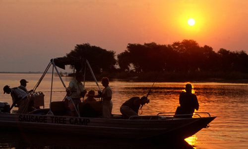 Sausage Tree Camp, Lower Zambezi