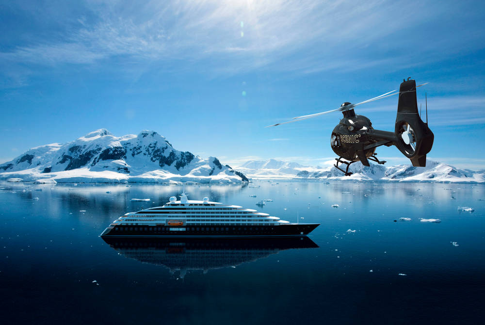 Helicopter, Scenic Eclipse – artist's render