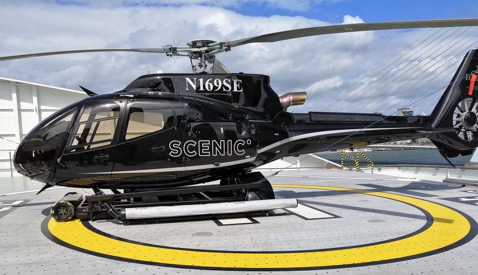 Scenic Eclipse Helicopter, Scenic Ocean Cruises