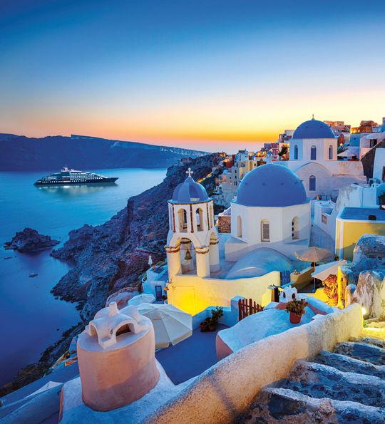 Scenic Eclipse Santorini