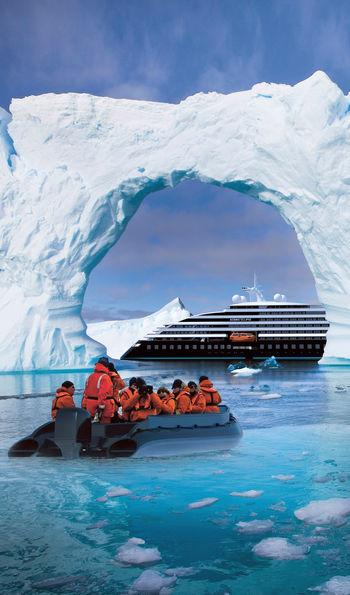 Scenic Eclipse Side Antarctica zodiac