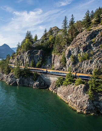 Sea-to-Sky corridor, Rocky Mountaineer