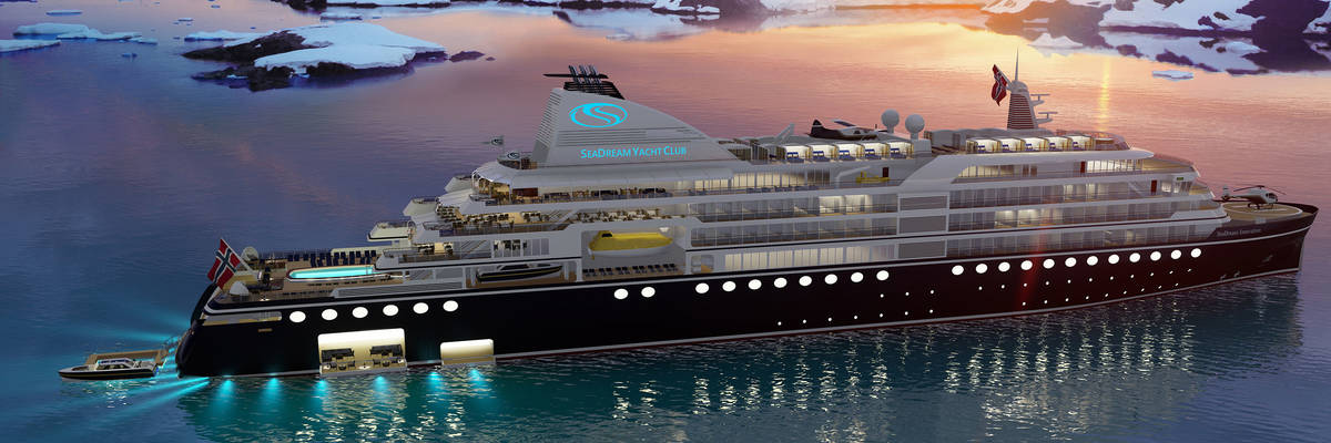 SeaDream Innovation will be the world's most advanced hybrid ship