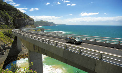 Sea Cliff Bridge, New South Wales, Australia