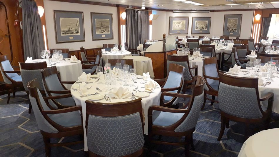 The Restaurant on Sea Spirit