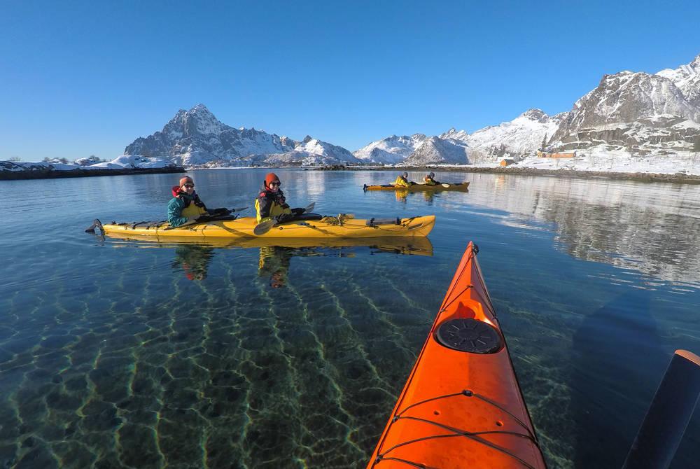 Lofoten Sea Kayaking