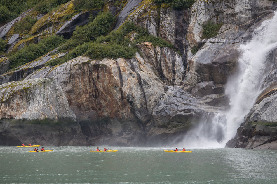 Ventures by Seabourn on Seabourn Expeditions in Alaska