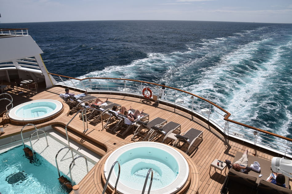 Seabourn Ovation back deck