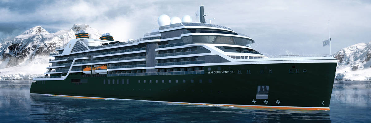 Seabourn Reveal Name of first Expedition Ship