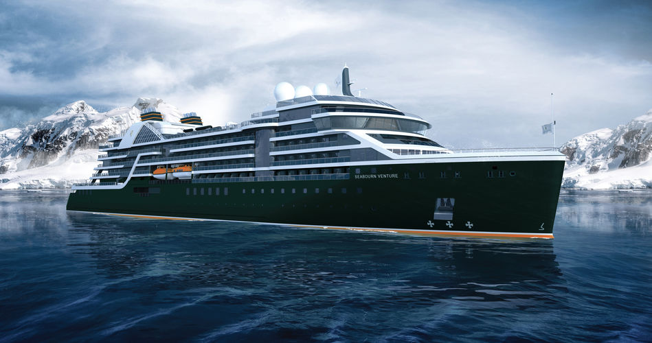 Seabourn Venture, the new expedition cruise ship from Seabourn