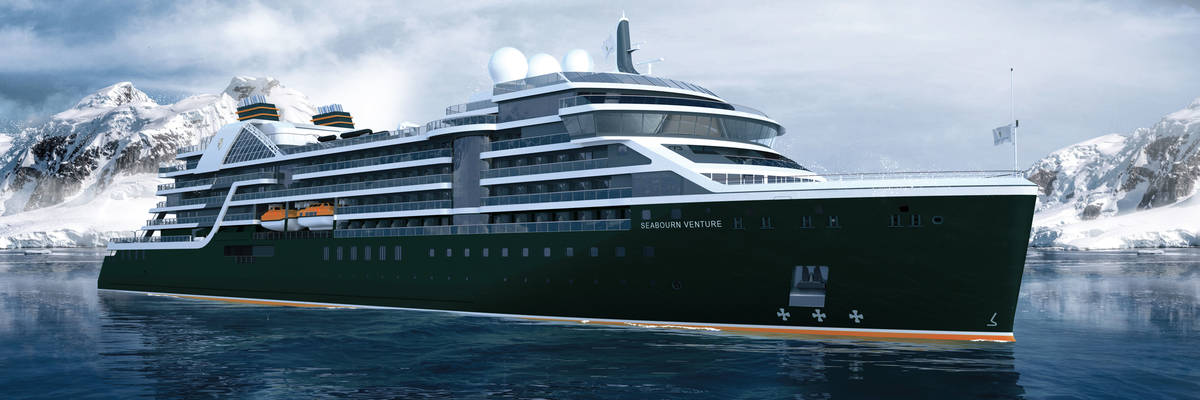 Seabourn reveal the designer of Seabourn Venture