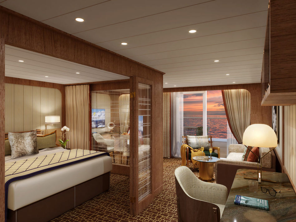 Penthouse Suite - Seabourn Venture