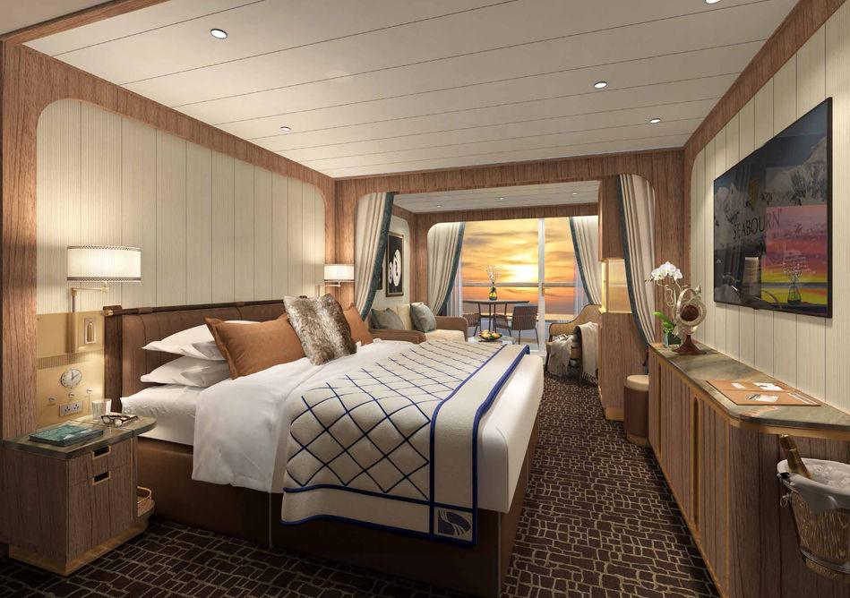 Veranda Suite - Seabourn Venture