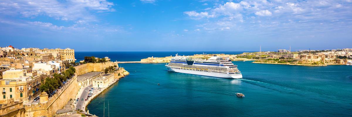 Seabourn in Valletta, Malta