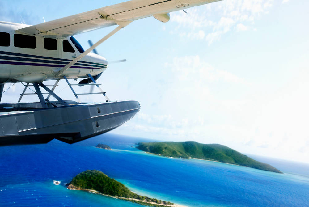 Seaplane transfer – InterContinental Hayman Island Resort