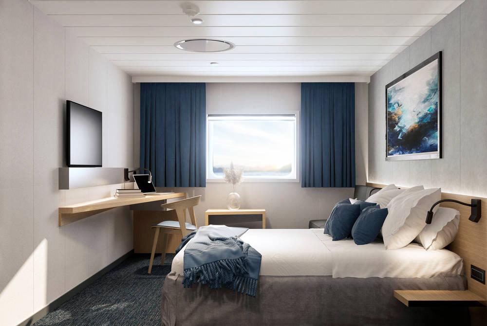 Seaview cabin, Havila Voyages