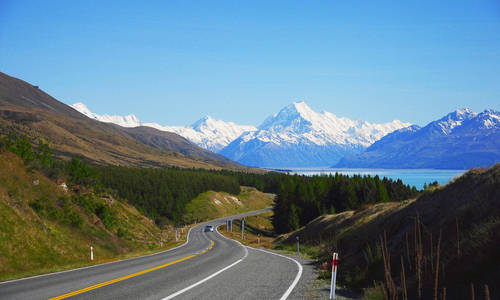Self Drive, Mt Cook, New Zealand