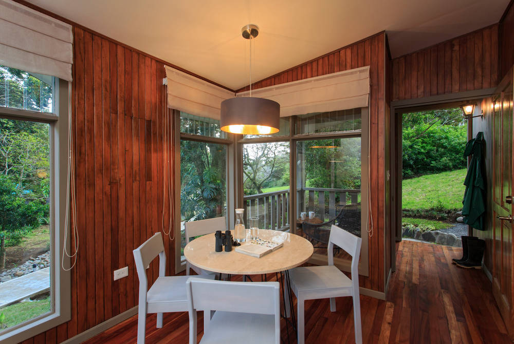 Junior Suite living space, Senda Monteverde, Costa Rica