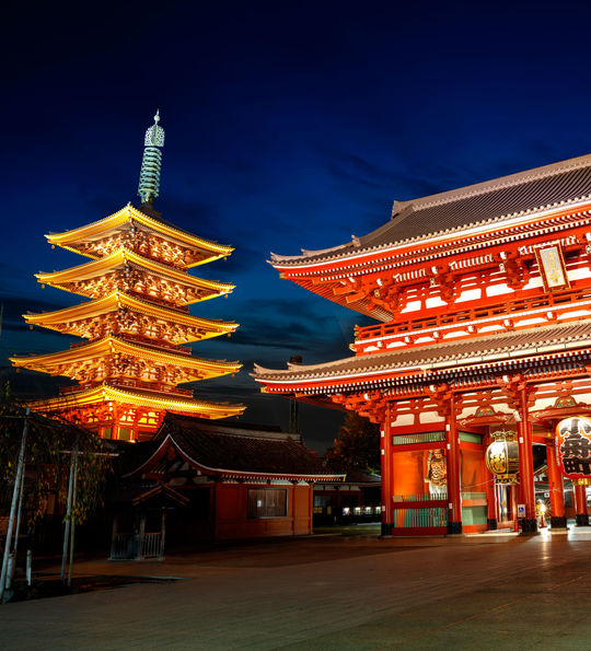The oldest temple in Tokyo – Sensoji