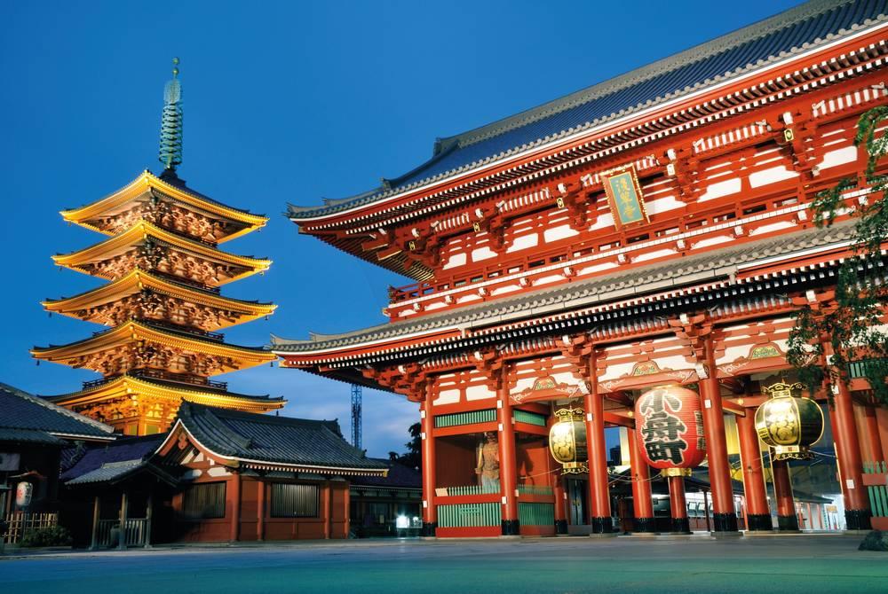Senso-Ji Temple, Tokyo