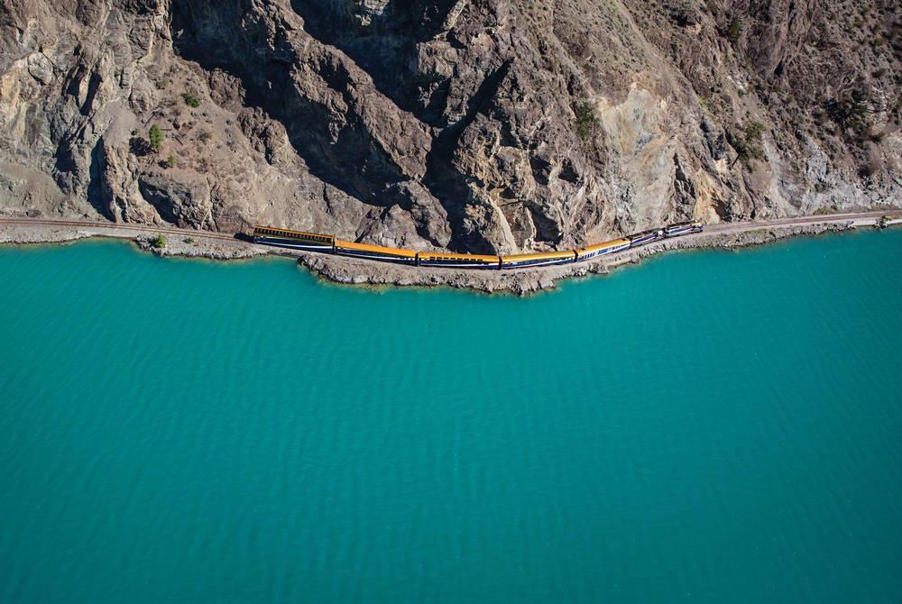 Seton Lake, Rocky Mountaineer
