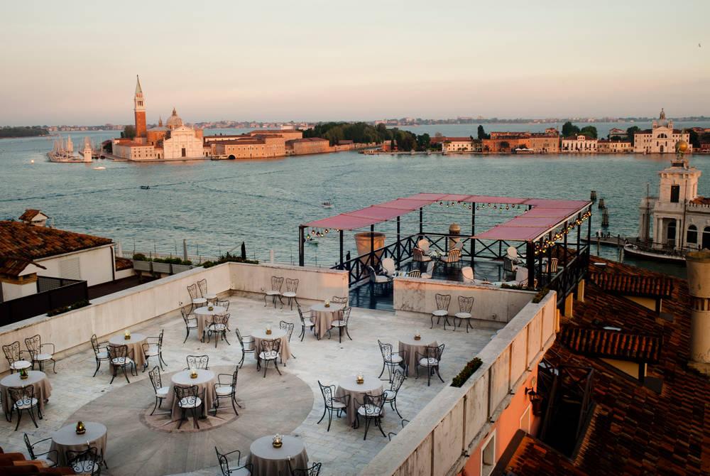 Settimo Cielo breakfast terrace