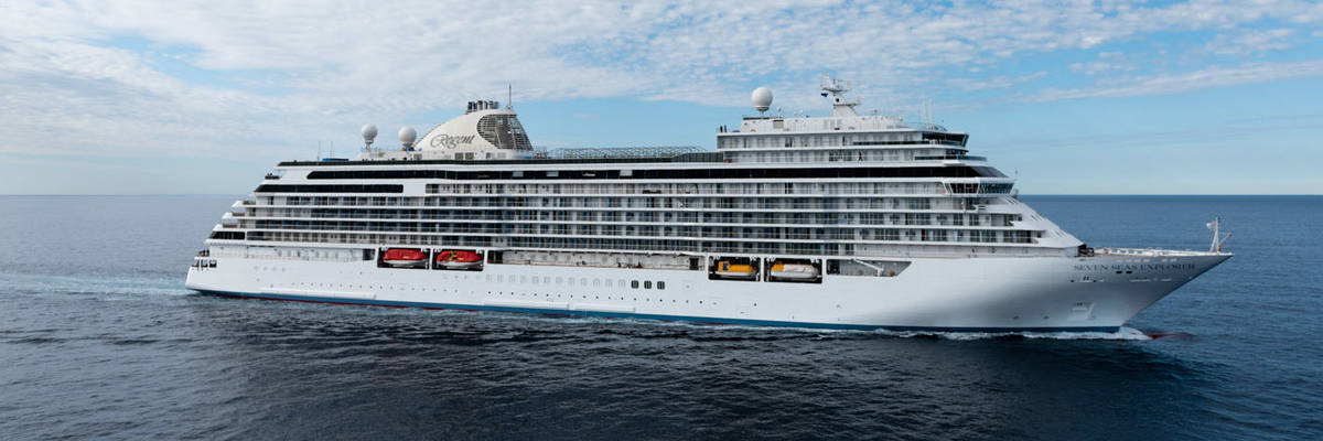 Regent announce new luxury cruise ship