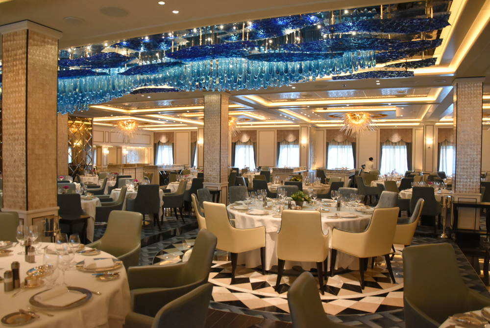 Seven Seas Explorer Compass Rose Restaurant