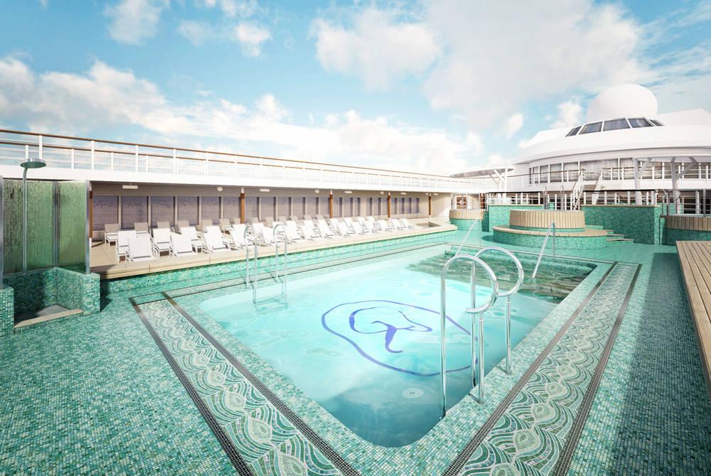Pool deck, Seven Seas Mariner