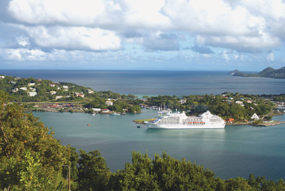Seven Seas Navigator in St Lucia