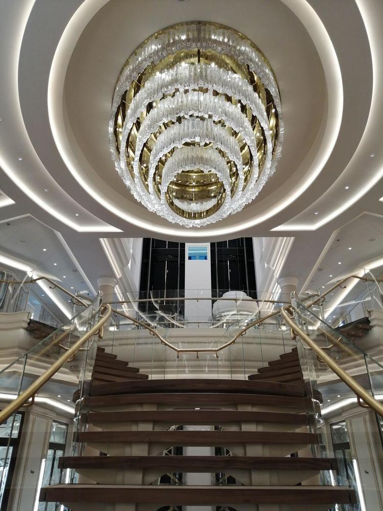 Seven Seas Splendor Atrium