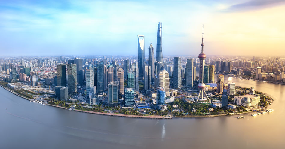 Shanghai - our first stop on our Imperial Jewels of China river cruise
