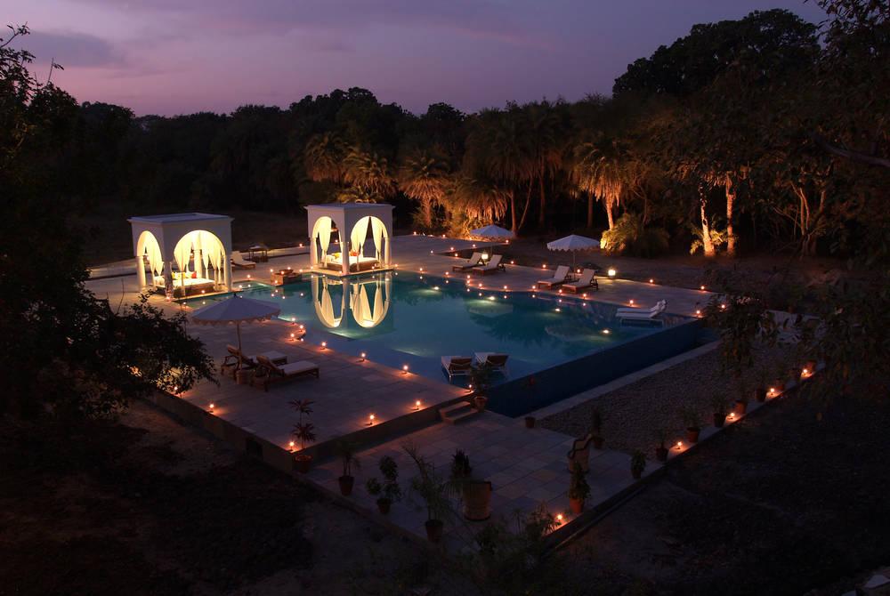 Shapurah Bagh Pool Area