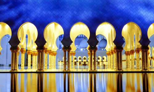 Sheikh Zayed White Mosque, Abu Dhabi, UAE