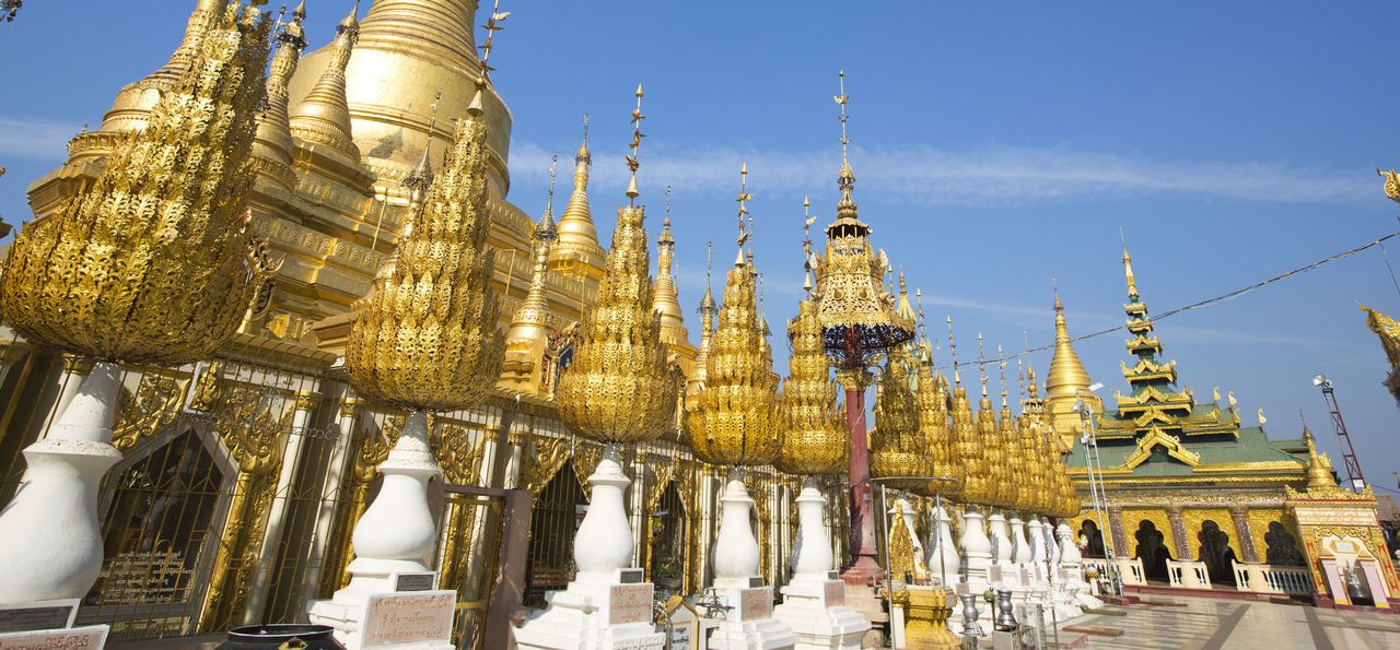 Shwesandaw pagoda in Pyay (also known as Prome)