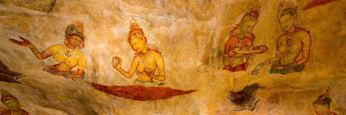 Sigiriya Rock Paintings