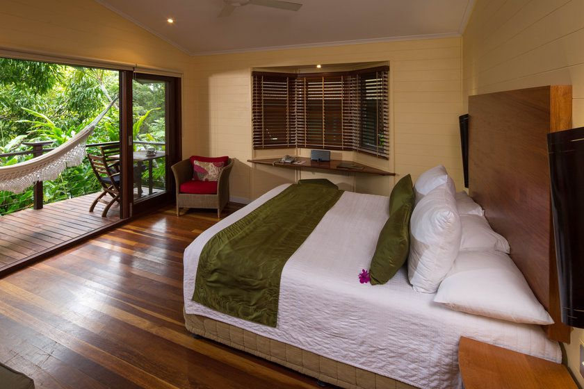 Daintree Treehouse Bedroom