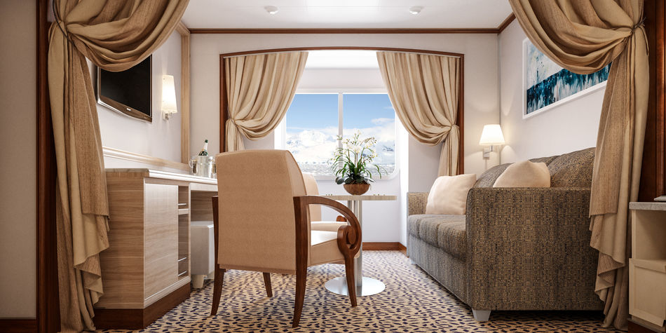Silver Cloud's Vista Suite, which Becky stayed in