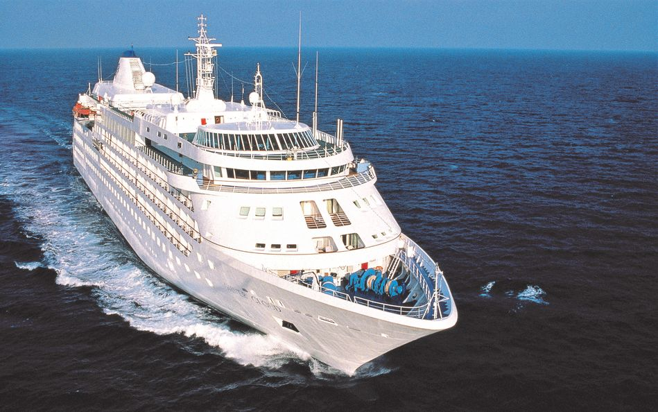 Silver Cloud, the first ship for Silversea Cruises