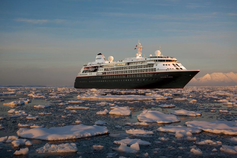 Silver Cloud from Silversea Expeditions
