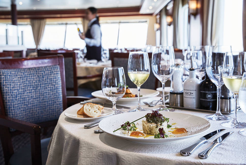 Dining on Silver Explorer